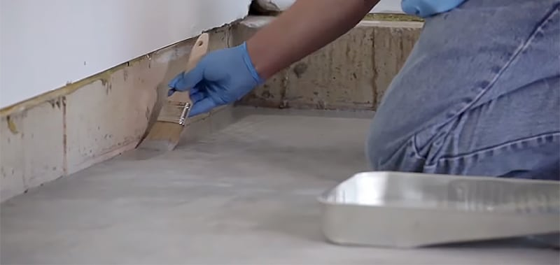 Apply Epoxy Paint a Concrete Basement Floor