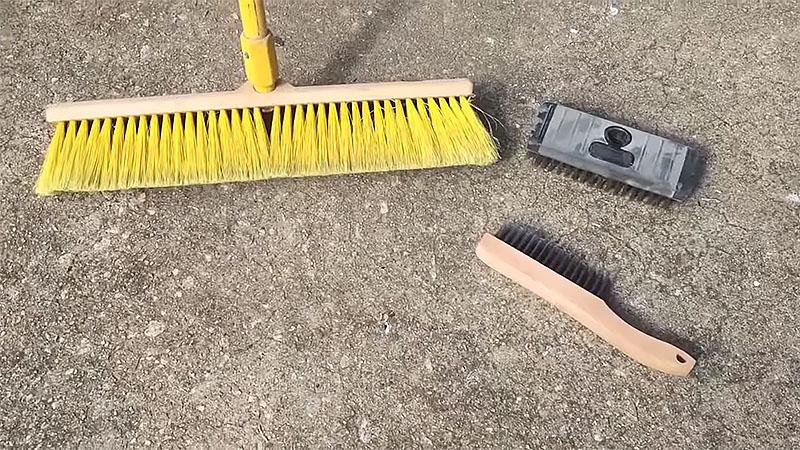 Clean Concrete Basement Floor before Paint