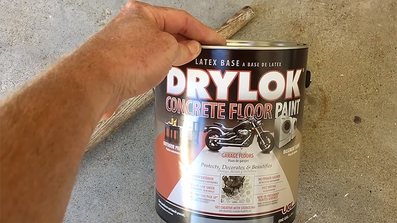 Drylok Concrete Floor Paint How to Use