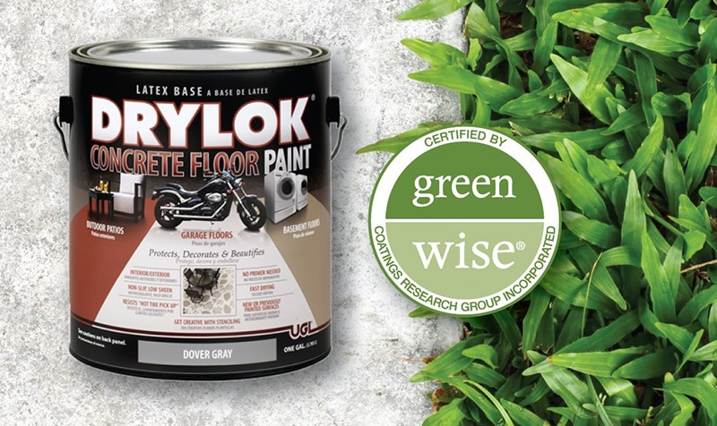 Drylok Concrete Floor Paint Green Wise Certified