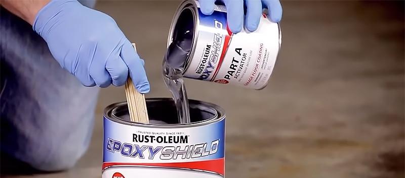 Prepare Your Rust Oleum Epoxy Shield