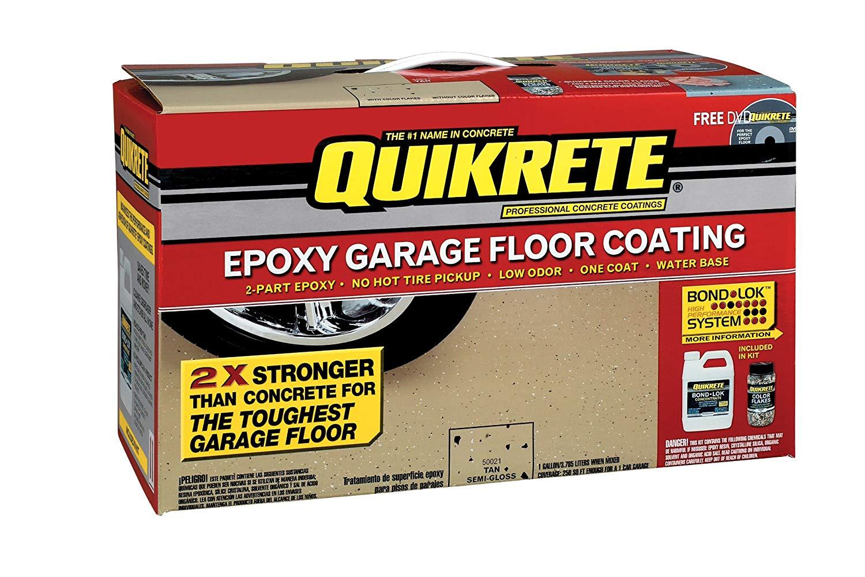 Quikrete Epoxy Garage Floor Kit