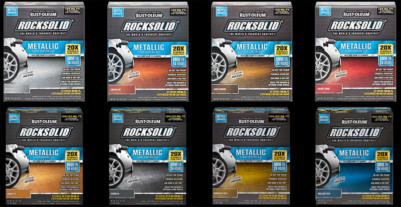 Rust-Oleum RockSolid Metallic Colors