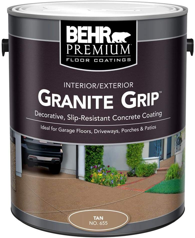 BEHR 1 gal. 65501 Tan Granite Grip review