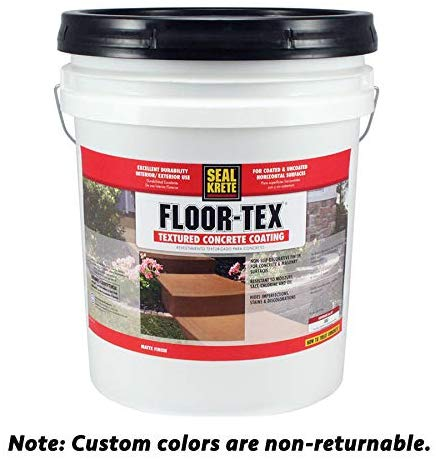 Floor -Tex 40 Textured Concrete Coating review