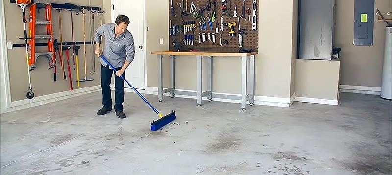 Surface treatment before apply Concrete Floor Paints