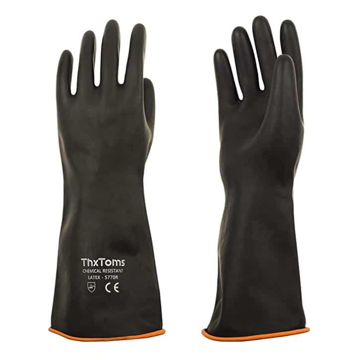 ThxToms Heavy Duty Latex Gloves
