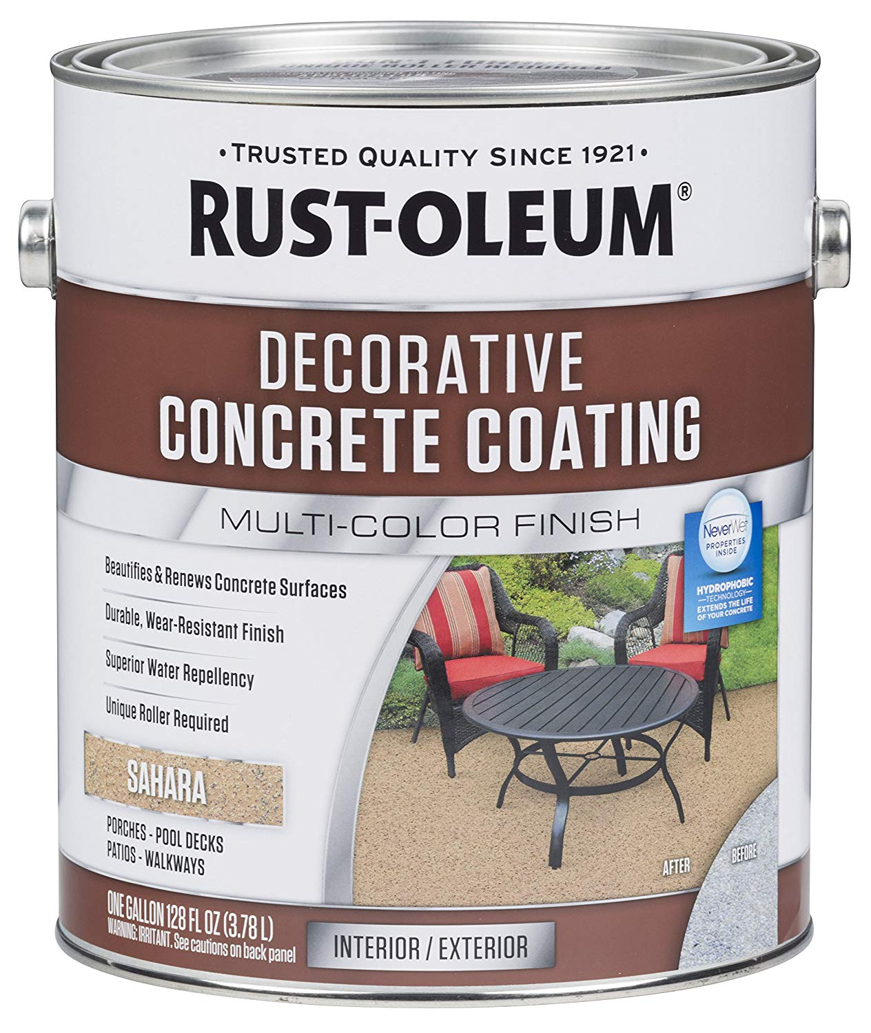 Rust-Oleum Decorative Concrete Coating review
