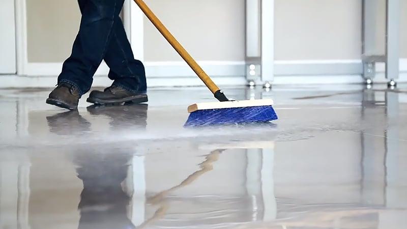 Clean and Repair the Floor
