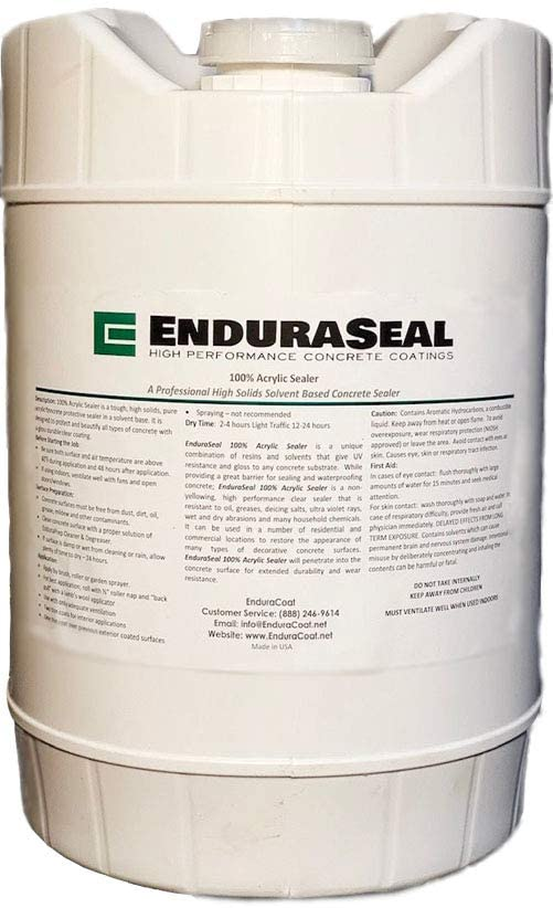 "EnduraSeal ""Wet Look"" Semi-Gloss Sealer review"