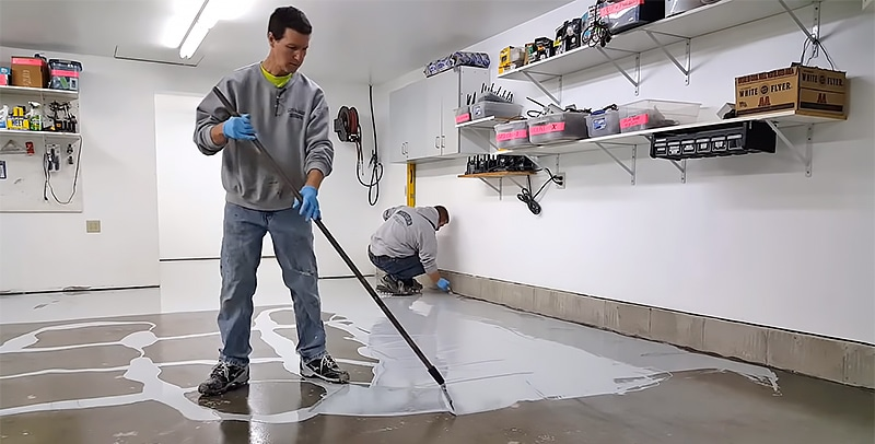 How to Seal a Garage Floor Step by Step