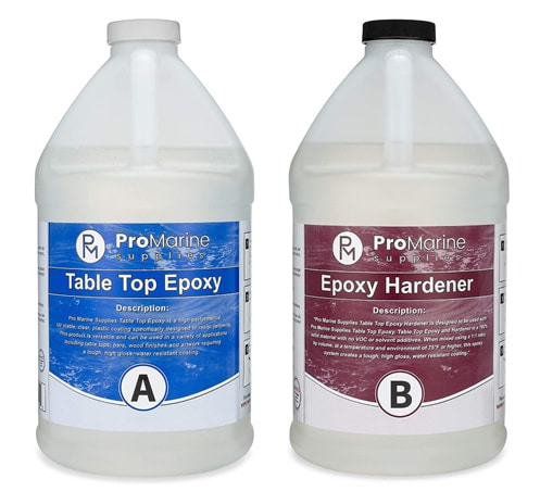 Pro Marine Supplies Crystal Clear Epoxy Resin
