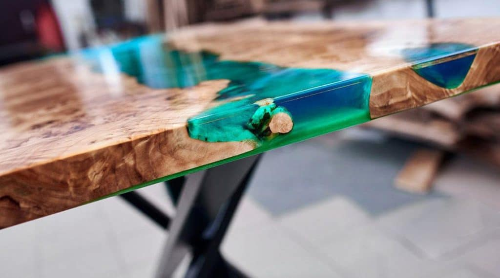 Wood Tabletop Resin