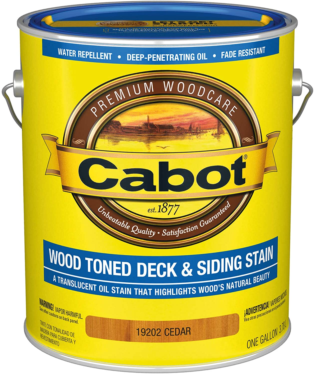 Cabot Wood-Toned Deck and Siding Stain review