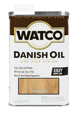 Watco A65741 Danish Oil Wood Finish