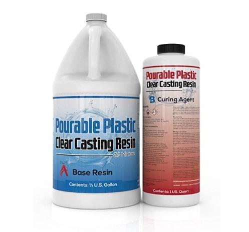 Pourable Plastic Deep Pour