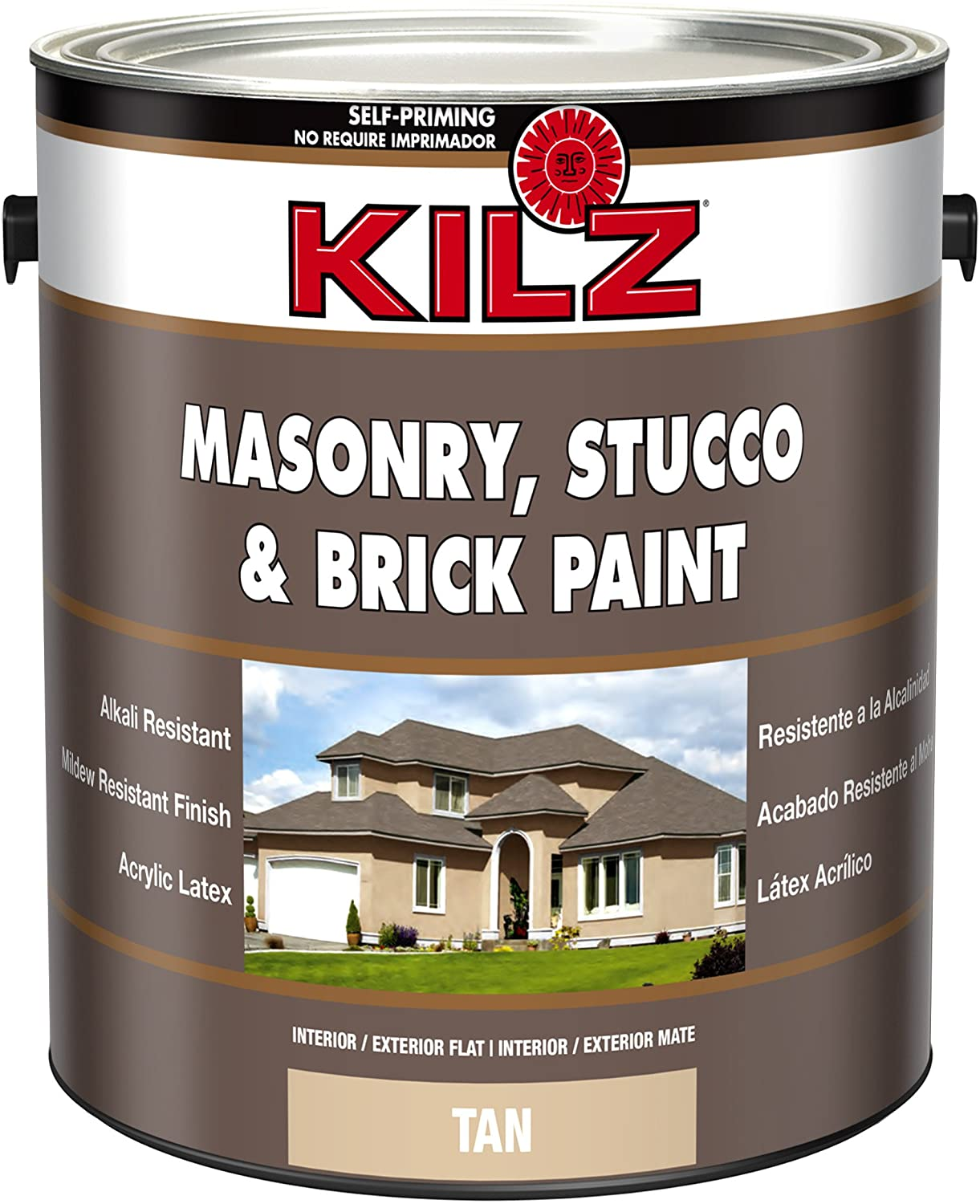 Kilz Masonry, Stucco, Brick Paint in Tan review