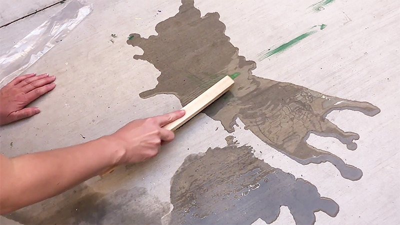 Removing Spray Paint from Concrete