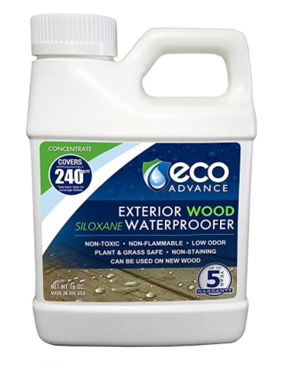 Eco Advance Exterior Wood Water Repellent review