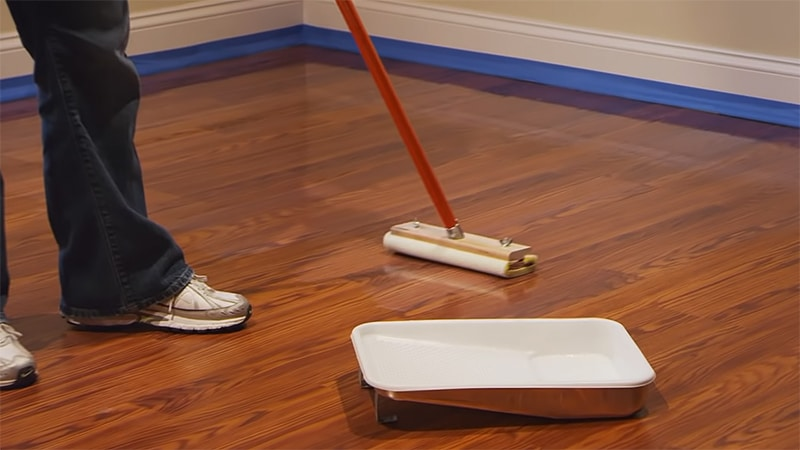 Ease of Application Water Based Polyurethane for Hardwood Floors