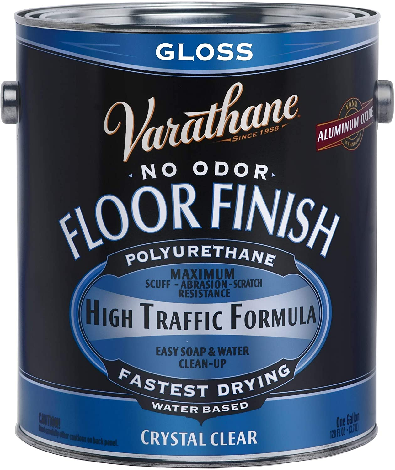 RUST-OLEUM Varathane Crystal Clear No Odor Floor Finish review