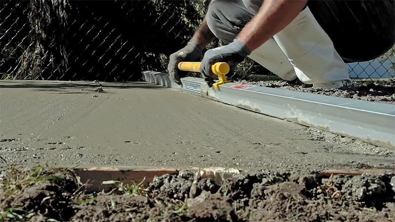 Compacting the Concrete