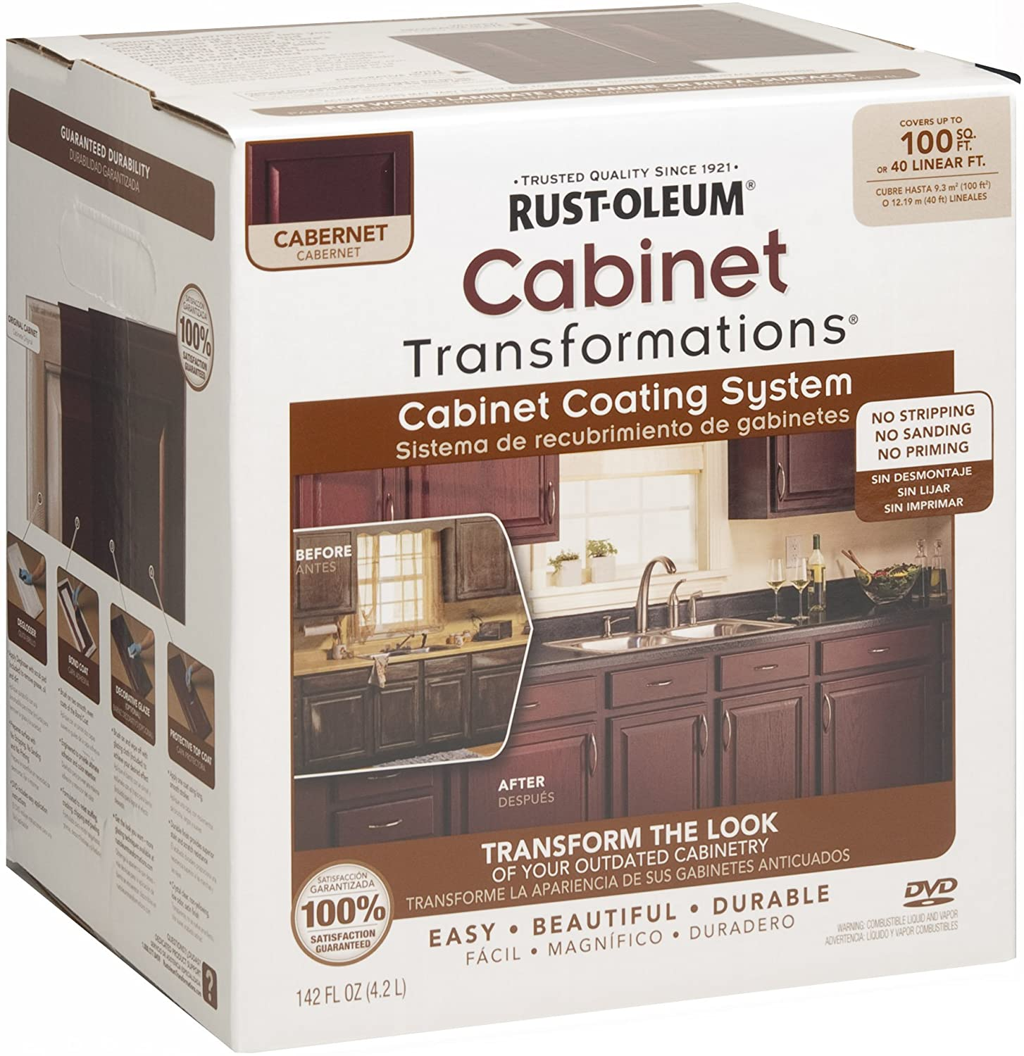 Rust-Oleum 263231 Cabinet Transformations review
