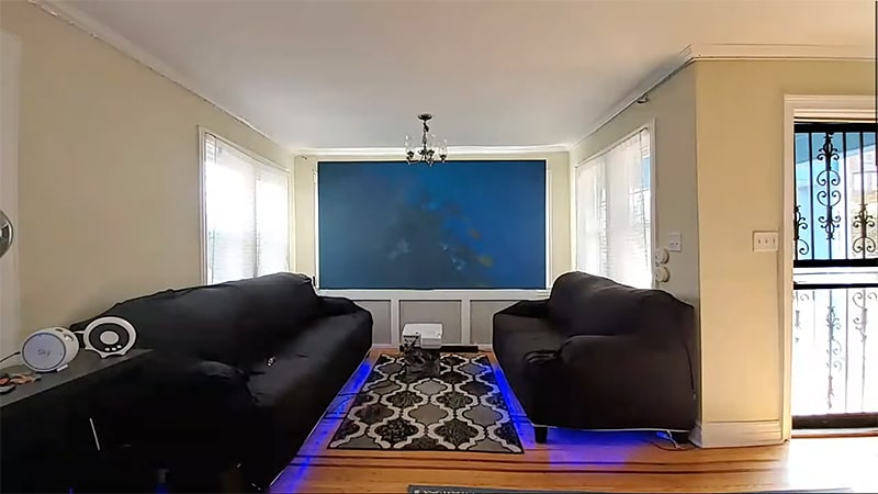 Ambient Light in the Room You're Using for Viewing Projector Screen Paints