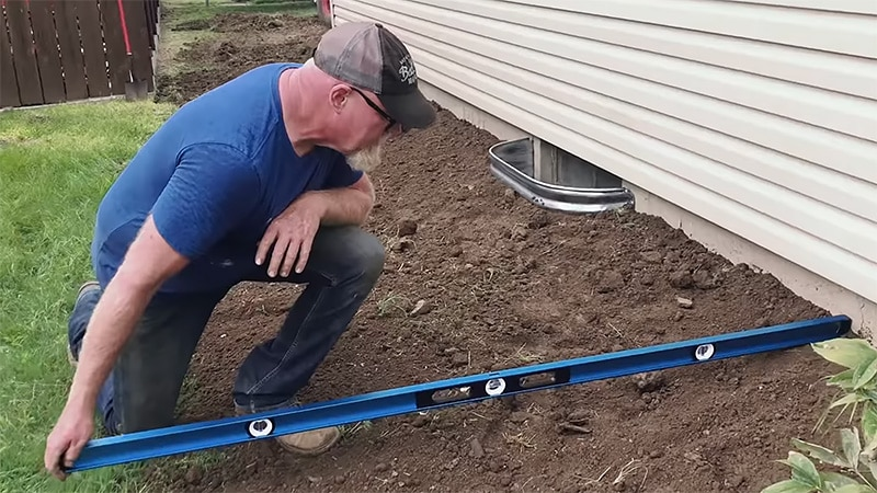Good Slope Between the Ground and House - Waterproofing Basement Walls