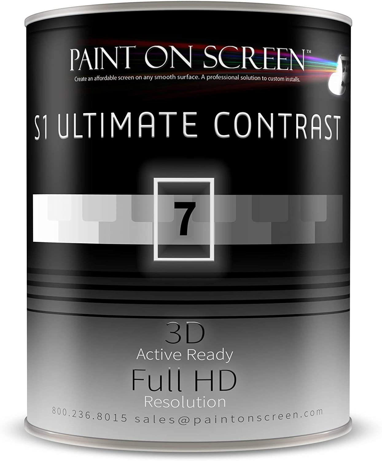 Paint On Screen Projection/Projector Screen Paint - S1 Ultimate Contrast review