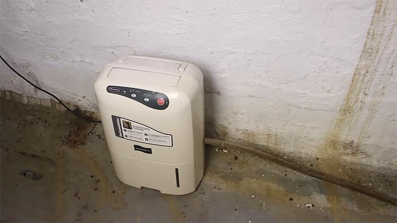 Waterproofing Basement Walls - Good Dehumidifier