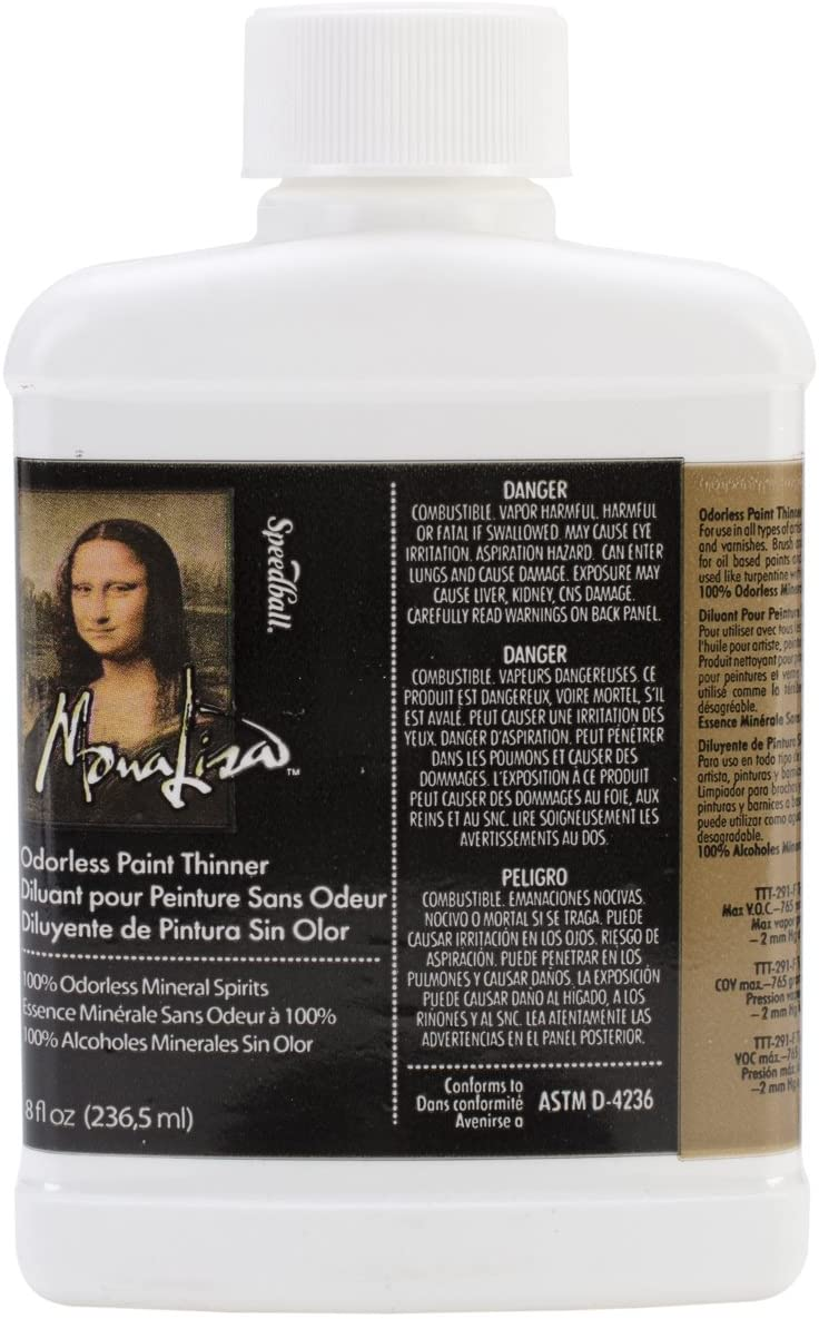 Speedball Mona Lisa Odorless Thinner
