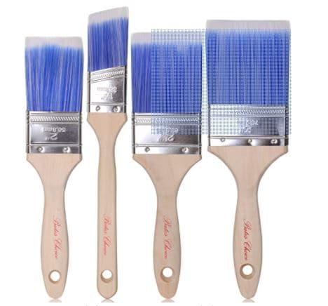 Bates Paint Brushes - 4 pack