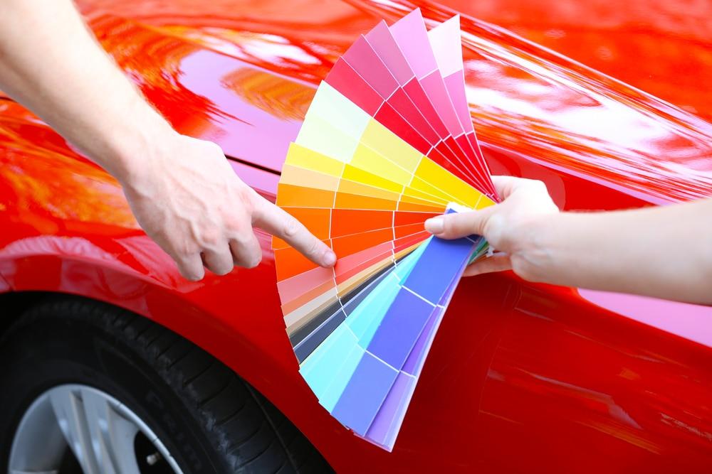 Choosing your car paint