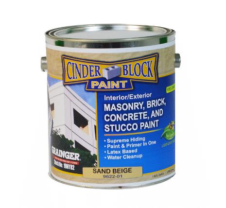 Cinder Block Masonry & Stucco Paint