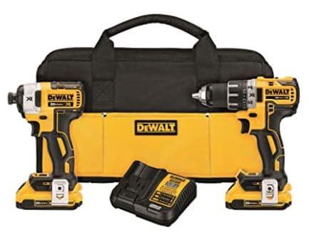 Dewalt 20V Max XR Cordless Drill Combo Kit
