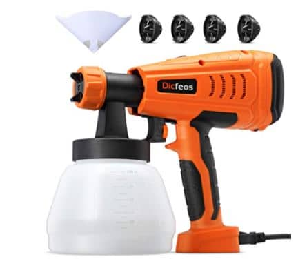 Dicfoes 700W High Power HVLP Home Spray Gun Review