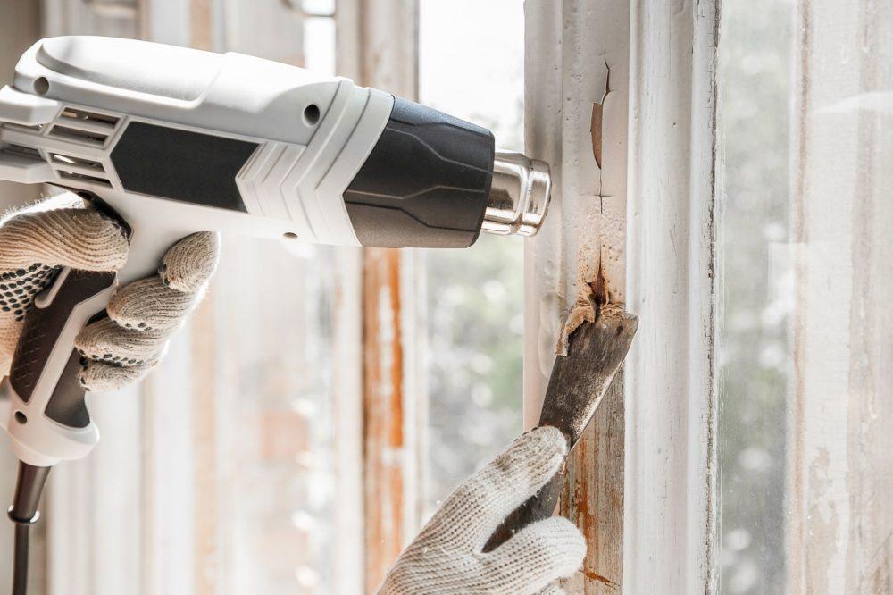 Heat Guns To Remove Paint