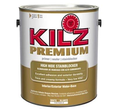 KILZ Premium High-Hide Stain Blocking Interior/Exterior Latex Primer
