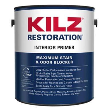 KILZ Restoration Maximum Stain and Odor Blocking Interior Latex Primer
