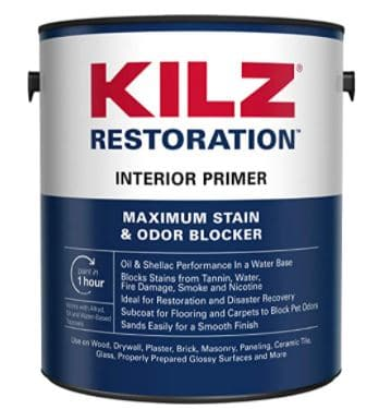 KILZ Restoration Maximum Stain and Odor Blocking Primer Review