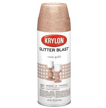 Krylon Glitter Blast Spray Paint Rose Gold