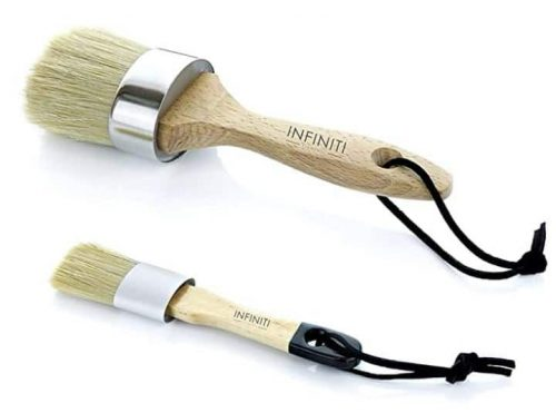 Professional Chalk and Wax Paint Brush Set by Infiniti Elementz Review