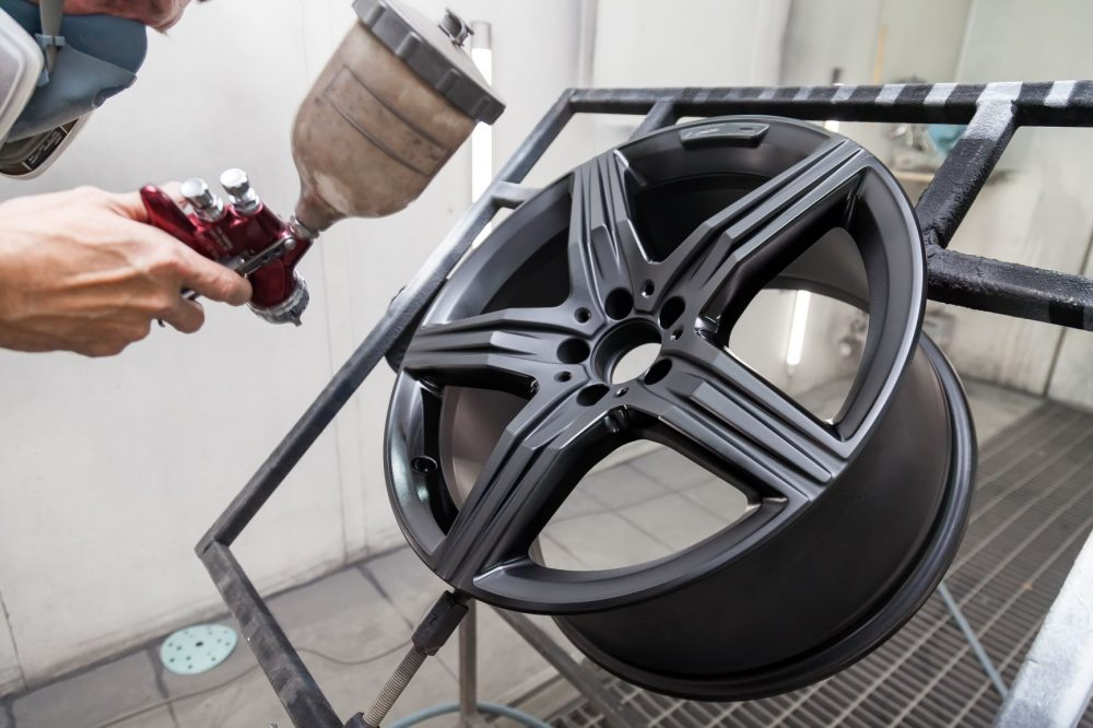 Spray Paint for Wheels and Rims