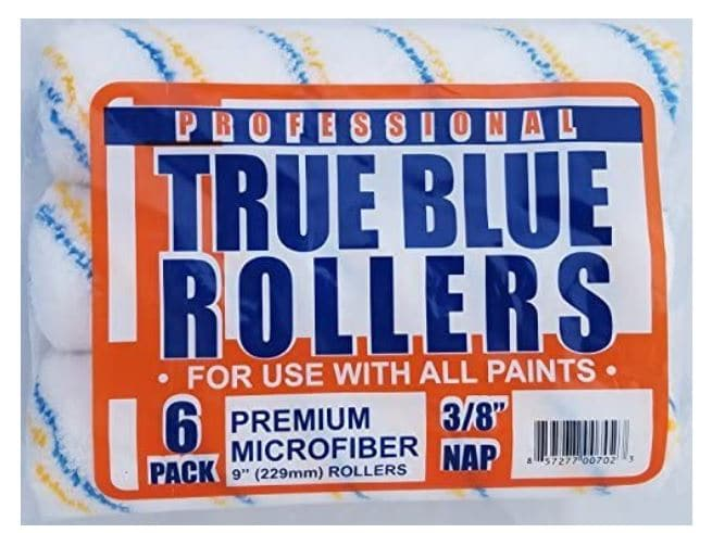 """True Blue Professional 9"""" Paint Roller Covers"""