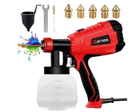 YATTICH High Power HVLP Spray Gun Review