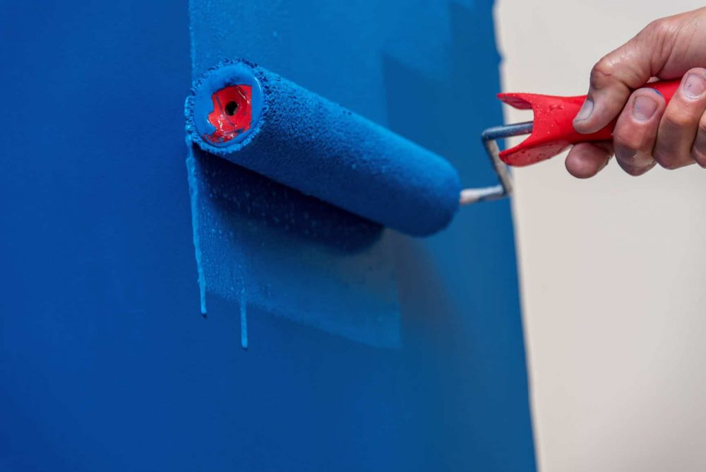 paint rollers for walls