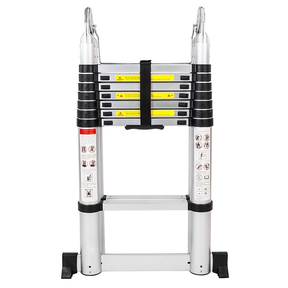 Bowoshen 16.5 ft A-Frame Telescoping Ladder