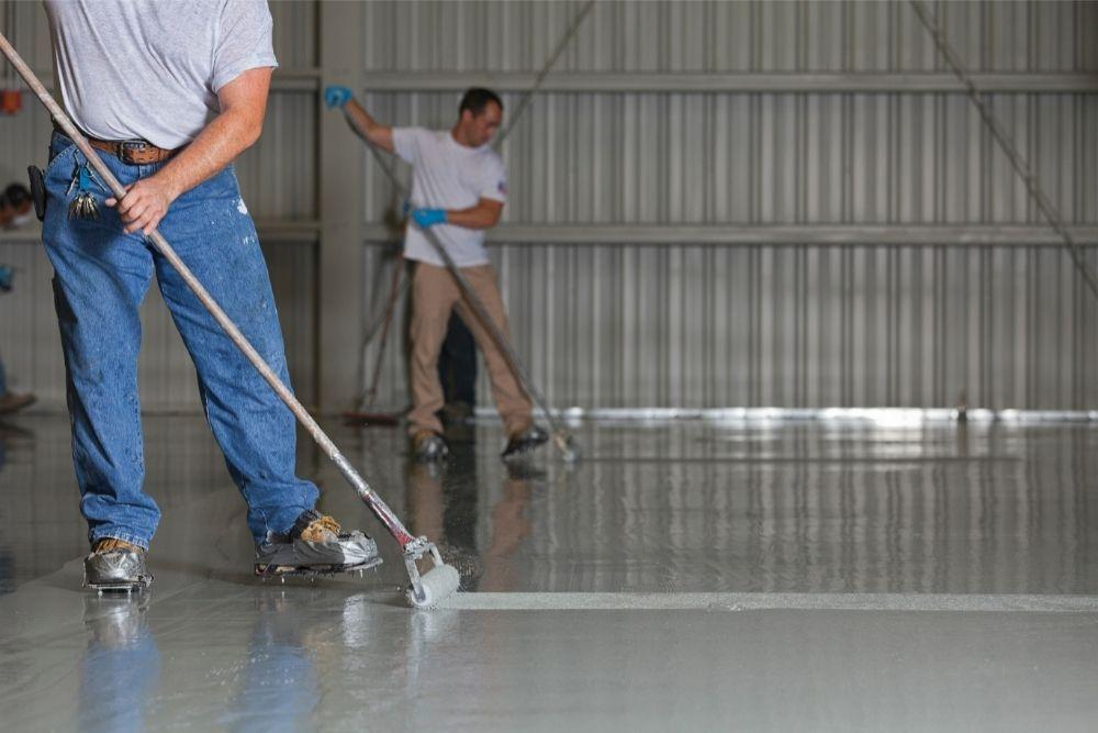 Can You Put Epoxy Floor Over Paint