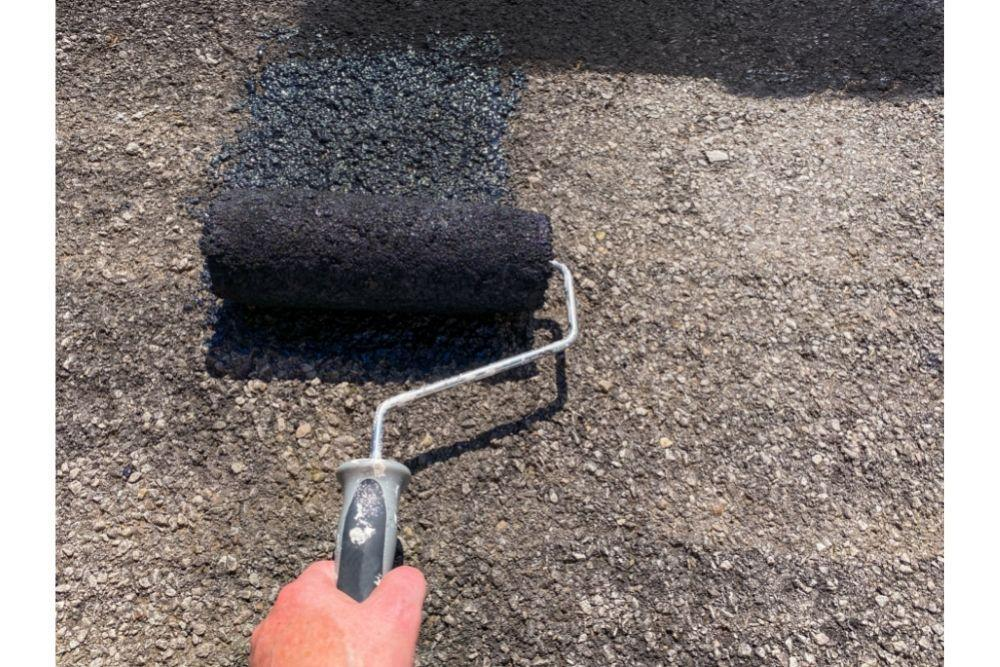 Can you paint your driveway
